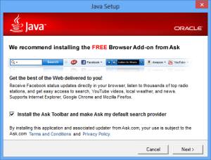 java-setup-ask-toolbar